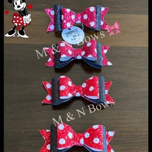 Minnie Mouse set of four